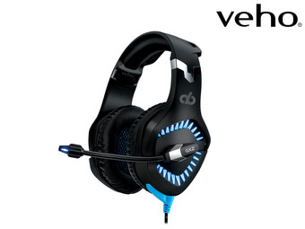 Veho Alpha Bravo GX-2 Gaming Headset met UBU 7.1 Surround Sound