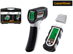 Laserliner Vochtmeter + Thermometer