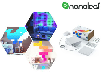 Nanoleaf Canvas Smarter Kit | 9 Paneele