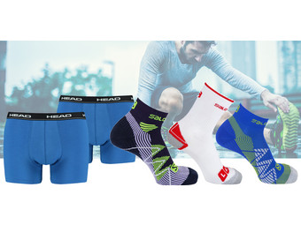 HEAD & Salomon Sportsocken
