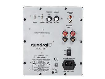 quadral qube 8 subwoofer wei internet 39 s best online. Black Bedroom Furniture Sets. Home Design Ideas