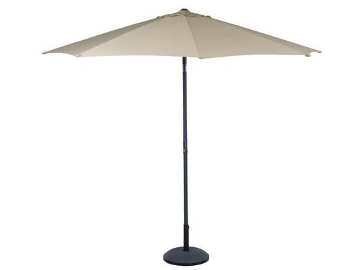 Sonnenschirm Mit Kurbel 2 7 M Durchmesser Champagne Internet S