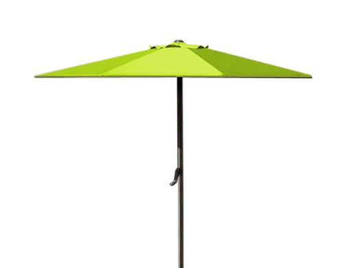 Sonnenschirm Mit Kurbel 2 7 M Durchmesser Grun Internet S Best