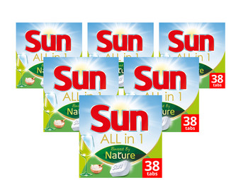 Sun All-in-1 Powered by Nature 6x 38 = 228 Stuks