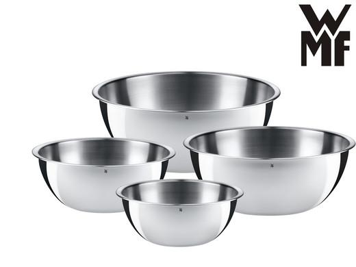 4 WMF Cromargan Kitchen Bowls ...