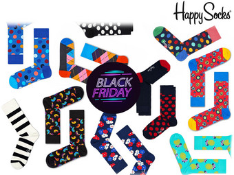 Happy Socks Mystery Pack | 6 Paar Socken | Unisex