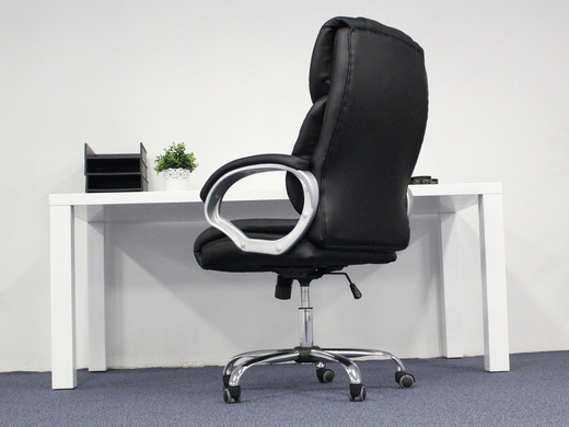 Big don luxe bureaustoel bruin of zwart internet s best online