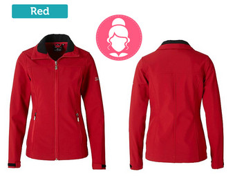Falcon softshell jack - dames of heren