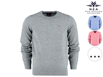 New Zealand Auckland Pullover | Rond of V-Hals