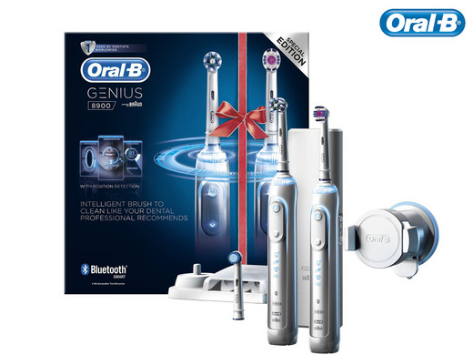 oral b genius 8900 elektrische zahnb rste inkl extra handst ck internet 39 s best online offer. Black Bedroom Furniture Sets. Home Design Ideas
