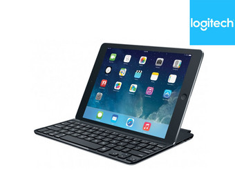 Logitech ultrathin toetsenbordcover voor iPad Air