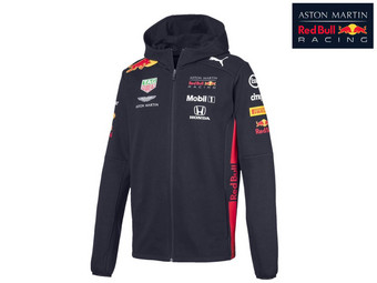 Red Bull Racing Mens Hooded Sweater