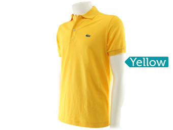 Lacoste Polo | Regular Fit Yellow L