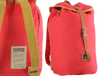 Nomad Canvas Backpack M Red Color