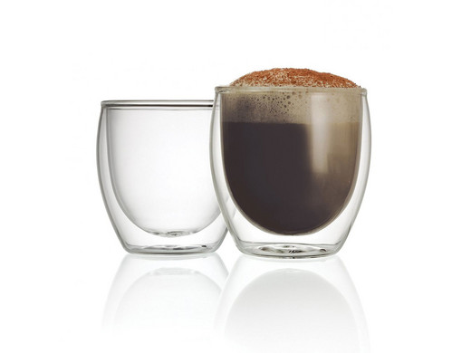koffie glas dubbel