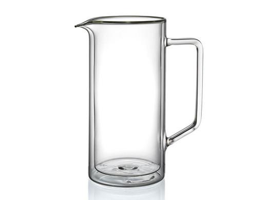 Schott Zwiesel HOT & COLD KRUG aus doppelwandigem Glas, 1 Liter