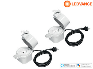 2x Ledvance Smart Outdoor-Plug