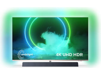 Philips 4K UHD 55″ Android Smart-TV | B&W-Sound | 3-seitiges Ambilight |  55PUS9435/12
