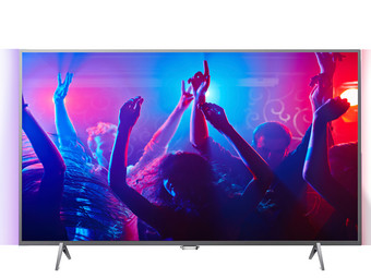 Philips 4K Ultra HD Ambilight Smart TV, refurb.