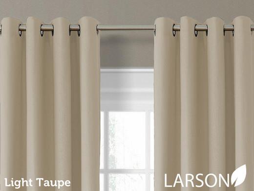 Larson Blackout Gardinen mit Ring oder Haken in verschiedenen Farben ...