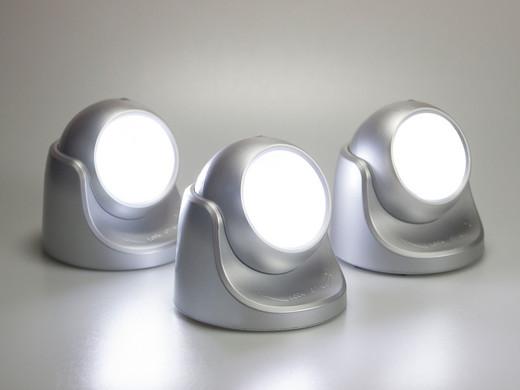 3x Quintezz Draadloze LED-lampen met Bewegingssensor - Internet\'s ...