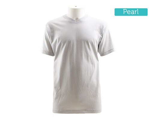 2x Alan Red Virginia V-neck Pear L