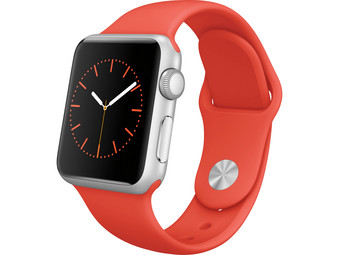 Apple Watch Sport |  38 mm | Orange Sport Band