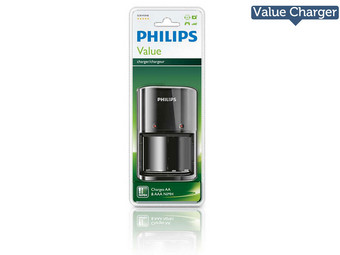 2x Philips MultiLife Akkuladegeräte
