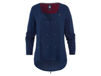 Blouse Flyer voor dames Dark Blue XL