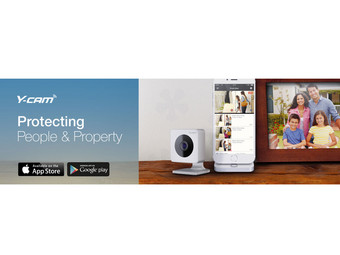 Y-Cam EVO Indoor HD-Camera | Wifi
