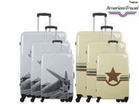 American Travel Trolleyset | 3-delig