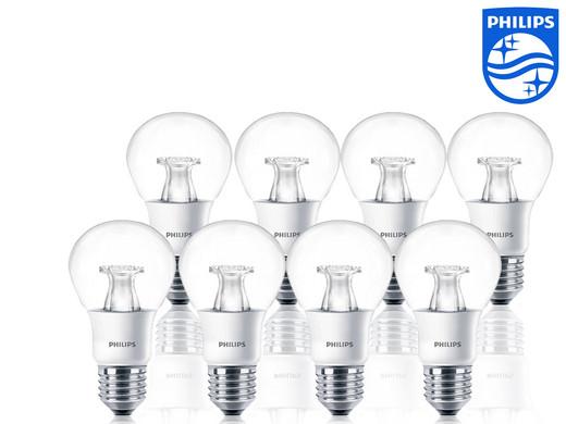 8x Philips Warmglow Led Lampen 40 Watt E27 Internet S Best