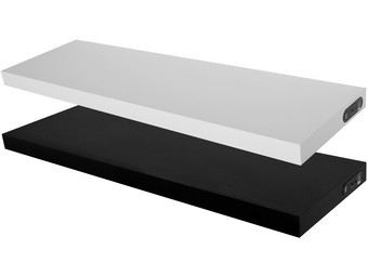 Duraline Draadloze Speaker Wandplank.Duraline Xl4 Draadloze Speakerplank Zwart Of Wit