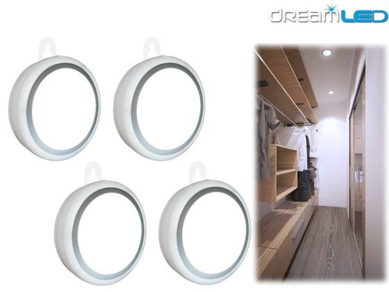 4x DreamLED Draadloze Sensor LED Lamp | USB