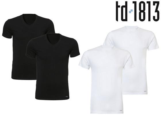 Korting 2x TD1813 Basic T Shirt