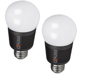 2x Bluetooth LED Lamp | E27