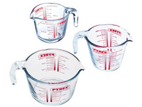 Pyrex Messbecher-Set | 3-teilig