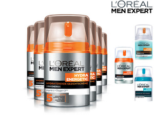 6x L'Oréal Skincare for Men