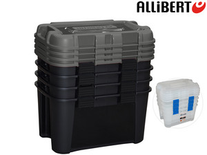 4x Allibert Totem 60 L Opbergbox