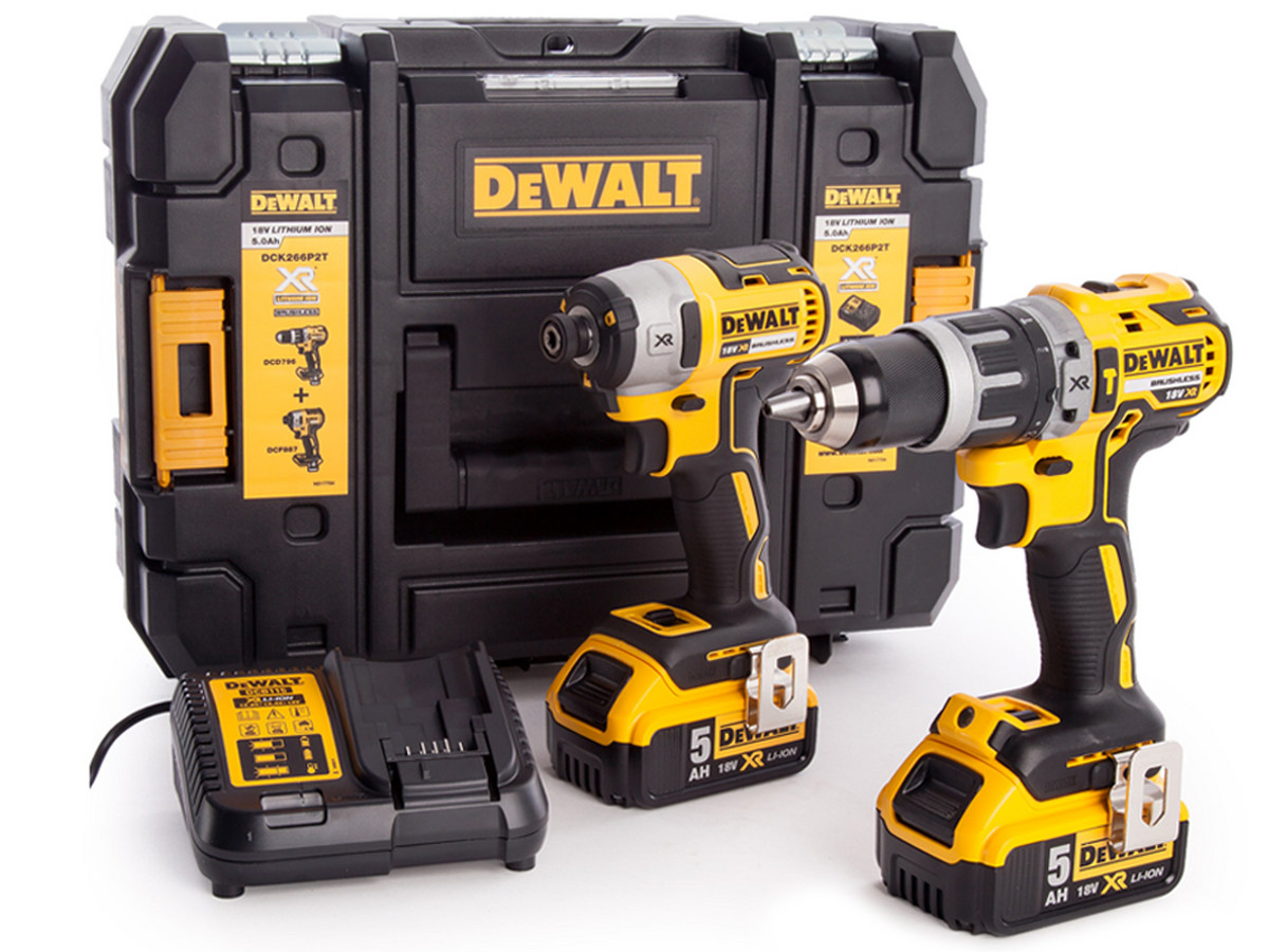 DeWalt combiboor (in set)
