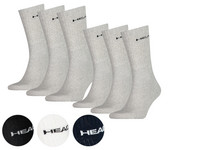 9x HEAD Short Crew Socken