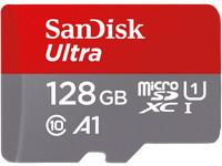 2x SanDisk microSDXC (128 GB)