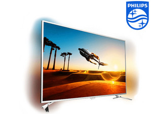 "Philips 43"" 4K UHD Ambilight TV"