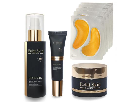 Korting Eclat Skin Gold 24K Set | 4 delig