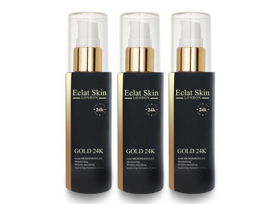 Korting 3x Eclat Skin Gold 24K Anti rimpel Serum