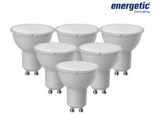 6x Energetic LED-Spots | 5 W | GU10
