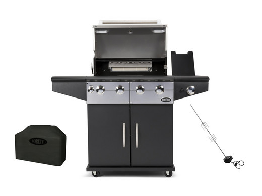 Boretti Gas Bbq.Boretti Davinci Barbecue Nero Internet S Best Online Offer Daily