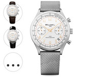 Chrono Bicolore RVS White Dial