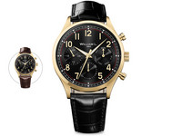 Calendar Yellow Gold Black Dial