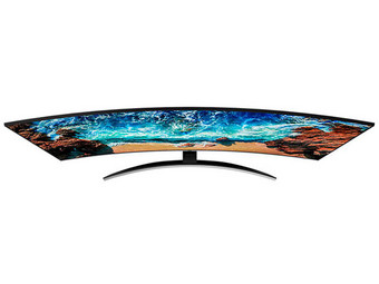 "Samsung 55"" Curved 4K TV (100 Hz)"